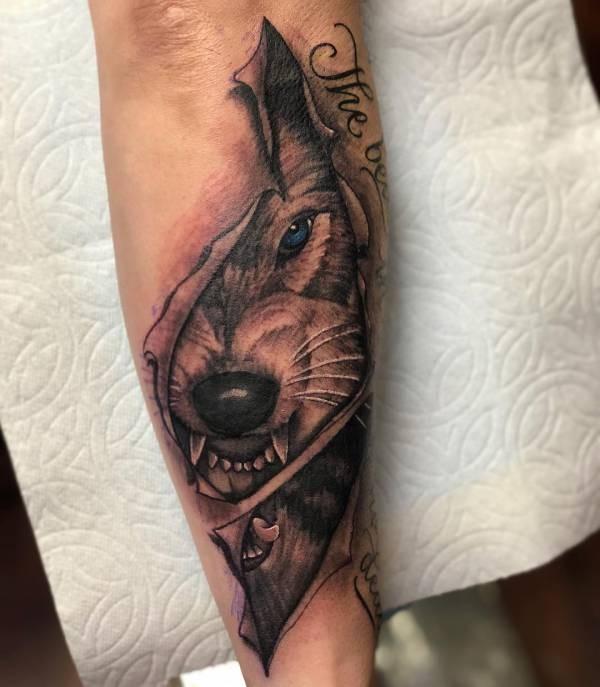 Wolven Tattoo Betekenissen En 32 Ideeën