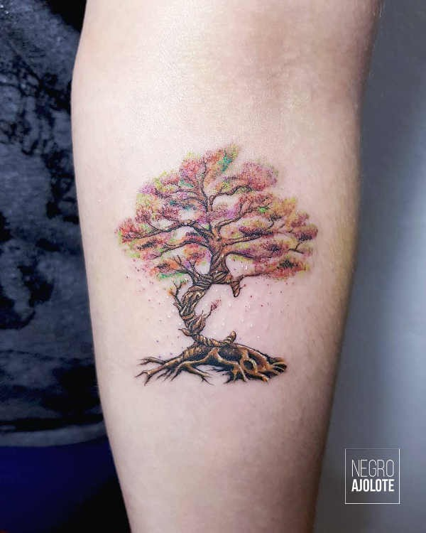 Betekenissen & inspiratie  Bomen tattoo: betekenissen en 55 tattoo ideeën