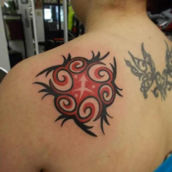 Betekenissen & inspiratie Sterrenbeelden-tatoeages  Sterrenbeeld boogschutter tattoo: betekenis & 30x tattoo-inspiratie