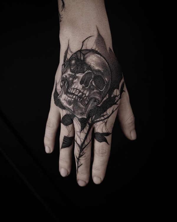 Doodskop Tattoo Betekenis En Oorsprong 80x Tattoo Inspiratie