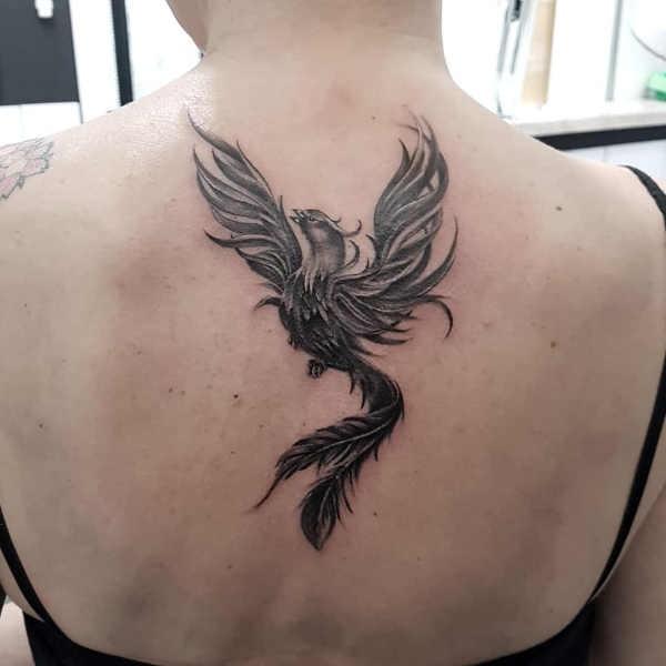 Verwonderend Feniks tattoo: betekenis en 30x tattoo-inspiratie EB-38