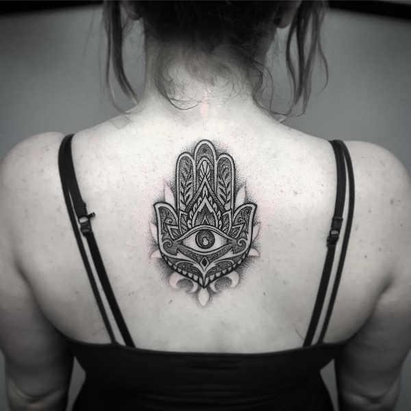 Hamsa Hand Tattoo Betekenis En Oorsprong 45x Tattoo