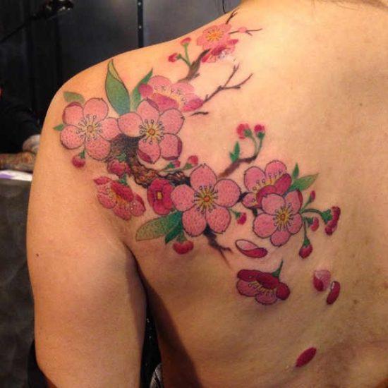 Kersenbloesem Tattoo Betekenis En 25x Tattoo Inspiratie
