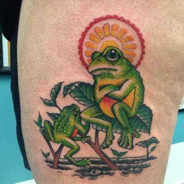 Betekenissen & inspiratie Dieren  Kikker tattoo: betekenis en 50x tattoo-inspiratie