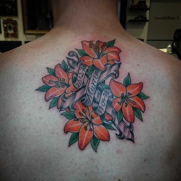Lelie Tattoo Betekenis 50x Tattoo Inspiratie