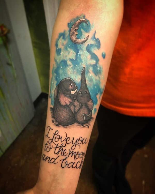 Betekenissen & inspiratie Dieren  Olifant tattoo: betekenis & 40 inspirerende tattoo ideeën