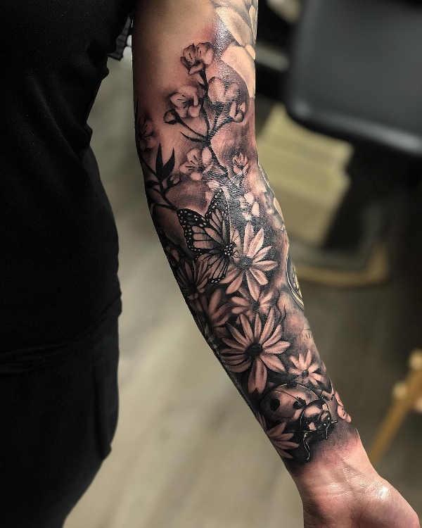 Onderarm Tattoos Oorsprong 100x Tattoo Inspiratie