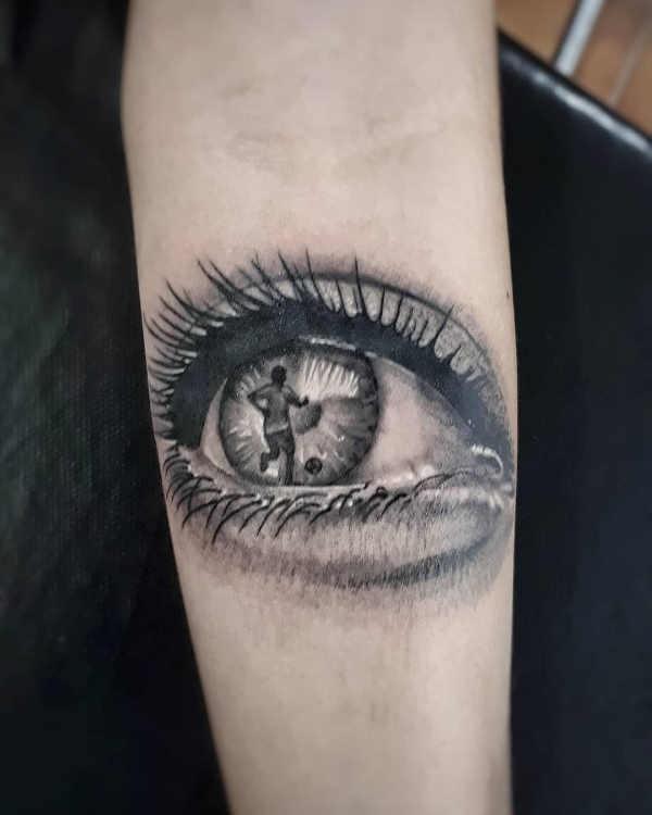 Boze Oog Tattoo.Oog Tattoo Betekenis En Oorsprong 50x Tattoo Inspiratie