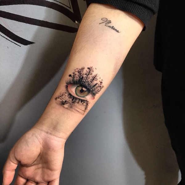 Oog Tattoo Betekenis En Oorsprong 50x Tattoo Inspiratie