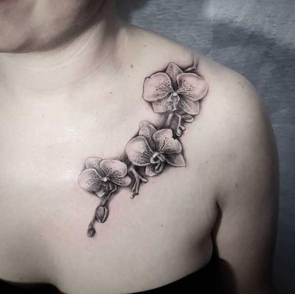 Betekenissen & inspiratie Bloemen  Orchidee tattoo: betekenis en 50x tattoo-inspiratie