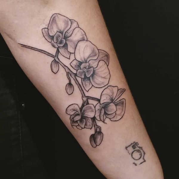 Orchidee Tattoo Betekenis En 50x Tattoo Inspiratie
