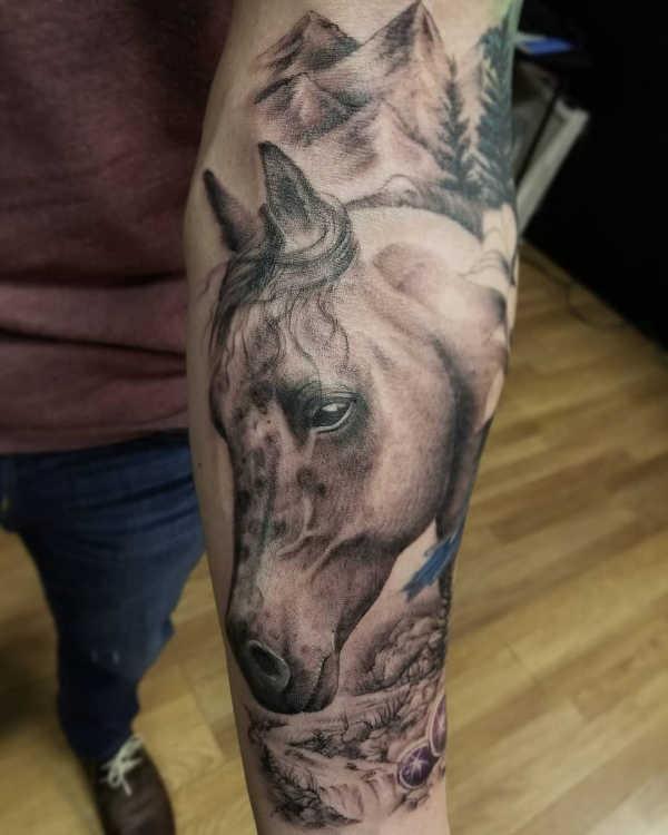 Paard Tattoo Betekenis 35 Tattoo Ideeën