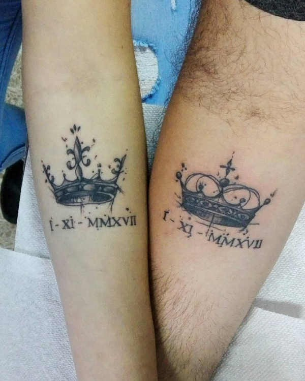 Betekenissen & inspiratie  Partner tattoos: 50+ tattoo-inspiratie