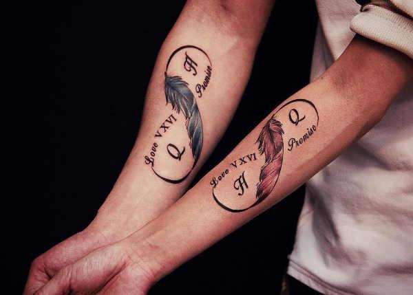 Partner Tattoos 50 Tattoo Inspiratie