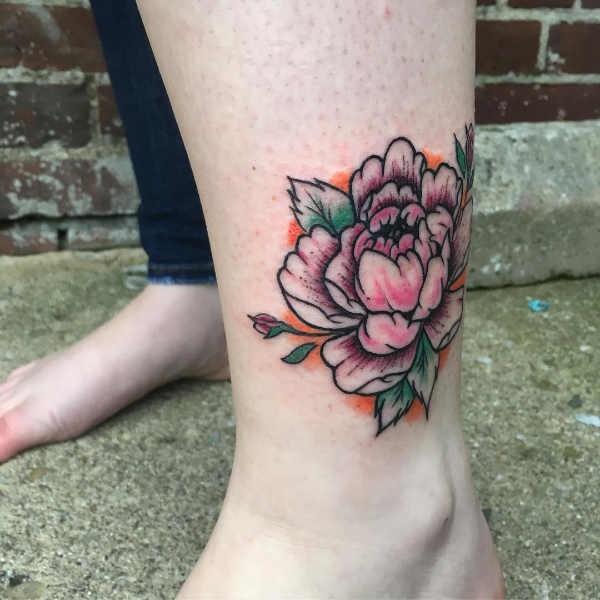Betekenissen & inspiratie Bloemen  Pioenroos tattoo: betekenis en 40x tattoo-inspiratie