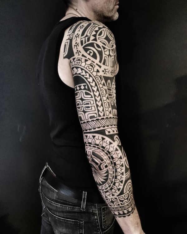 Populair Polynesische maori tattoo: betekenis & 120x tattoo-inspiratie @LC61