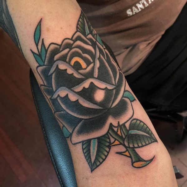 Extreem Rozen tattoo: betekenis & 50 tattoo ideeën #CS59