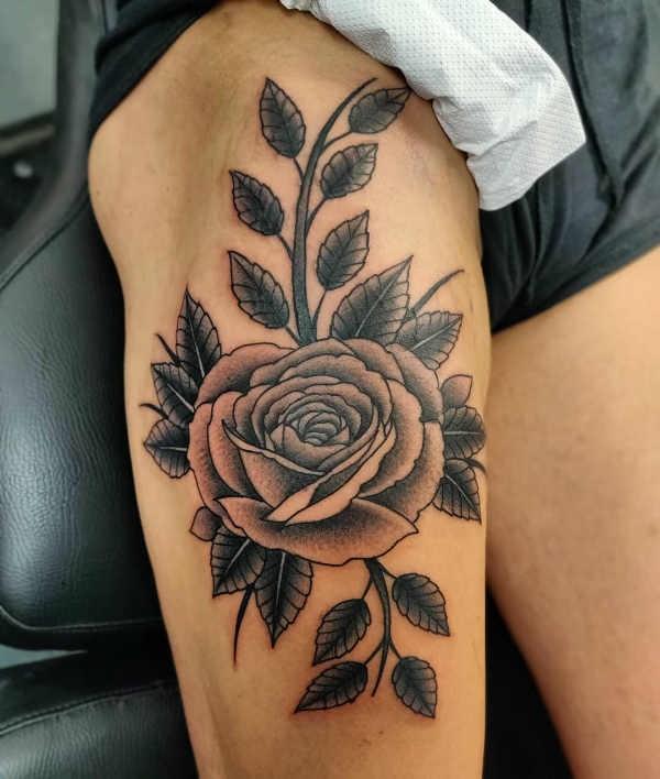 Geliefde Rozen tattoo: betekenis & 50 tattoo ideeën @FV33