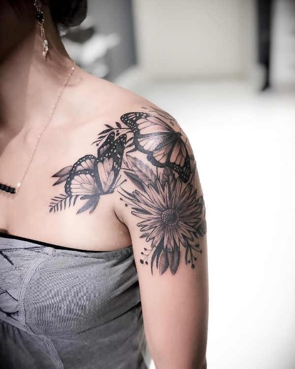 Schouder Tattoos 100x Tattoo Inspiratie