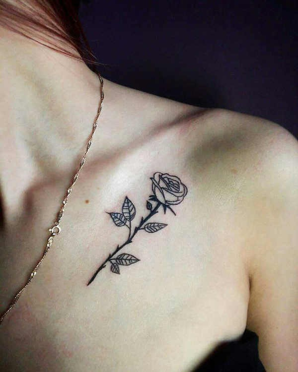 Plaatsen  Sleutelbeen tattoos: 100 prachtige en originele tattoo ideeën