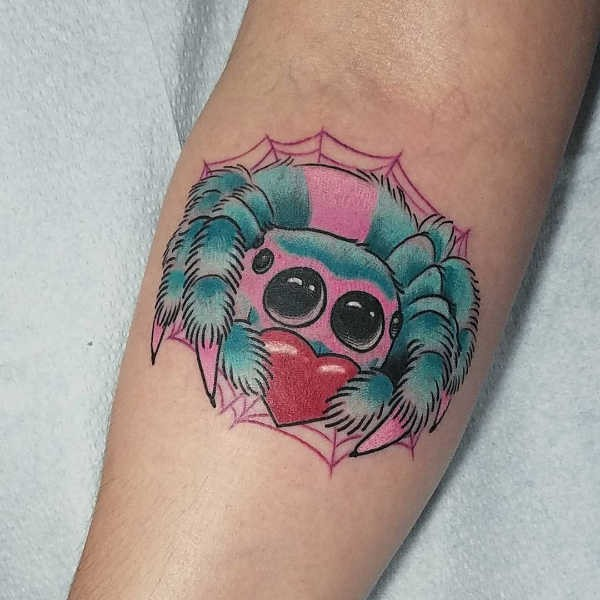 Betekenissen & inspiratie Dieren  Spinnen tattoo: betekenis & 40 inspirerende tattoo ideeën