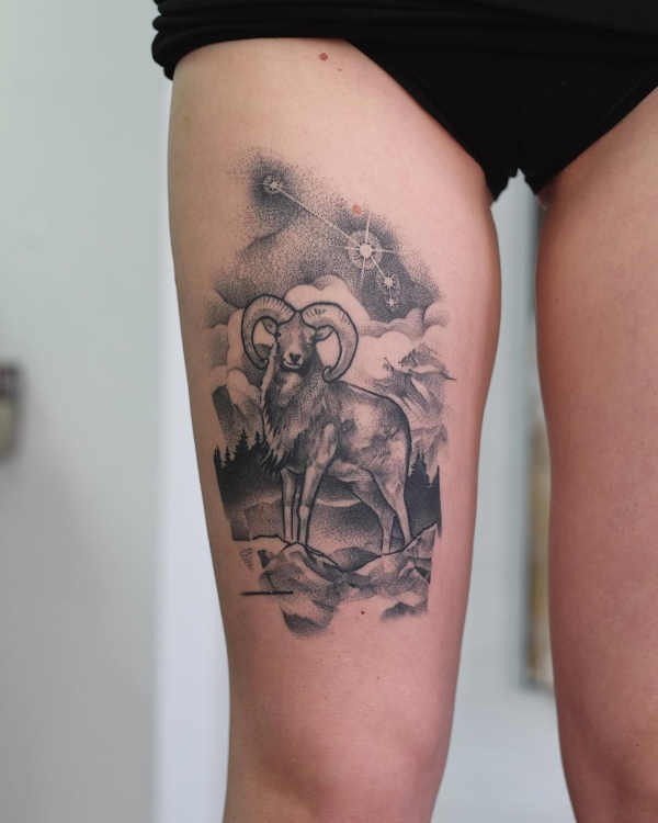 Steenbok Tattoo Betekenis En Oorsprong 30x Tattoo Inspiratie