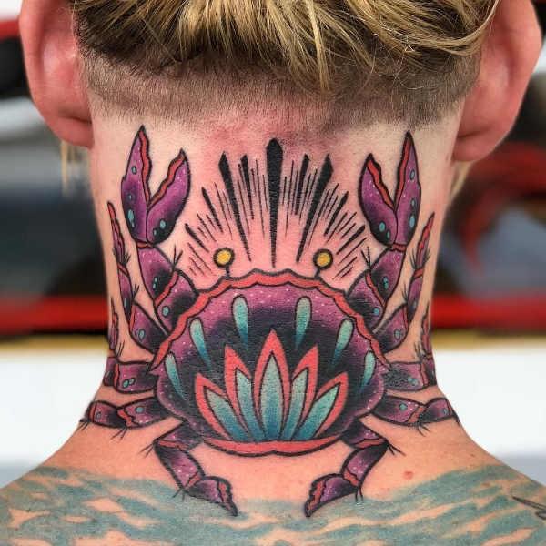 Betekenissen & inspiratie Sterrenbeelden-tatoeages  Sterrenbeeld kreeft tattoo: betekenis en oorsprong & 30x tattoo-inspiratie