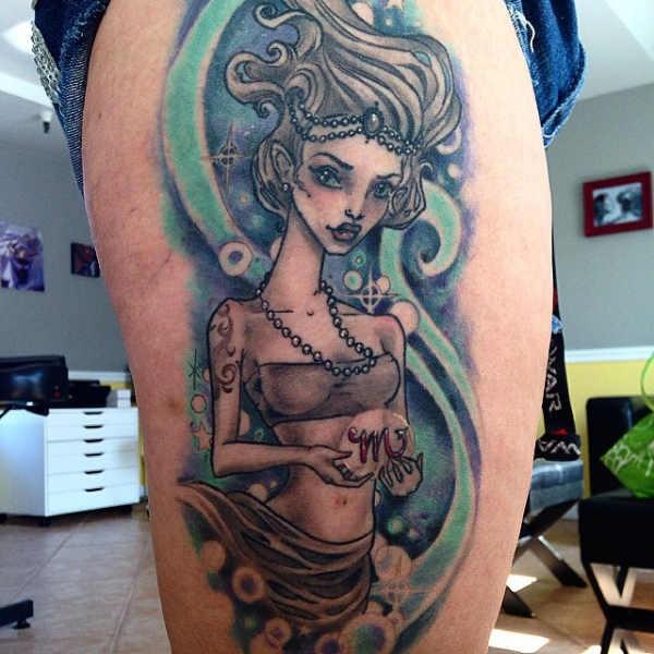 Betekenissen & inspiratie Sterrenbeelden-tatoeages  Sterrenbeeld schorpioen tattoo: betekenis & 30x tattoo-inspiratie