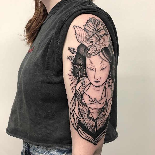 Betekenissen & inspiratie  Chinese tattoo: betekenissen en 30 tattoo ideeën