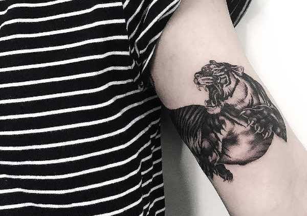 Betekenissen & inspiratie Dieren  Tijger tattoo: betekenis & 30 tattoo ideeën