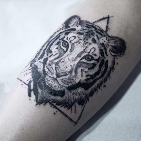 Tijger Tattoo Betekenis 30 Tattoo Ideeën