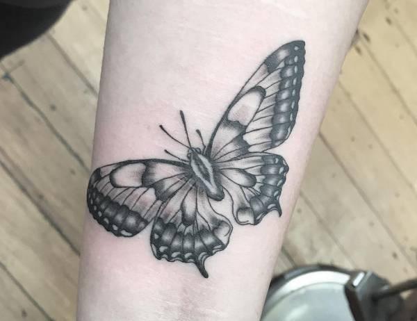 Betekenissen & inspiratie Dieren  Vlinder tattoo: betekenis en 100 ideeën ter inspiratie